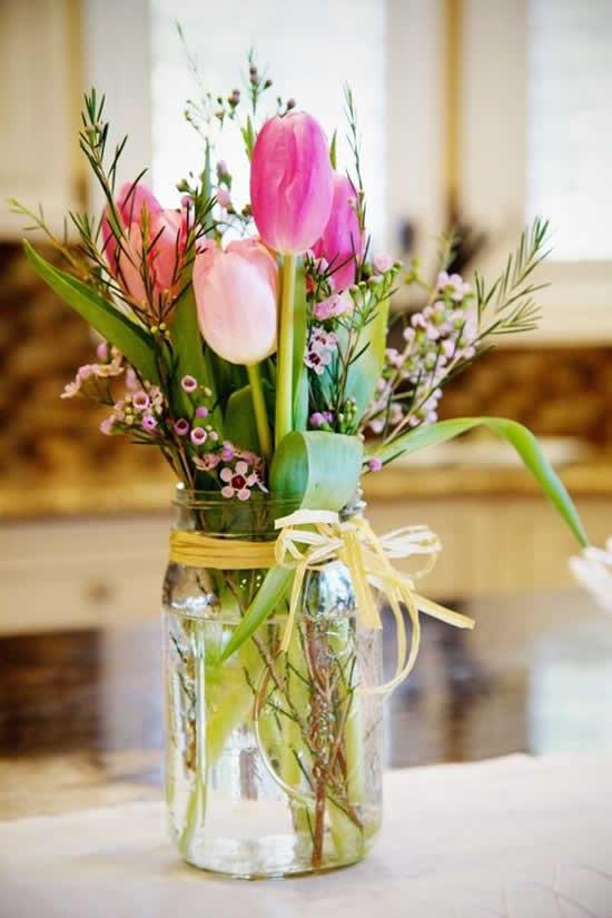 Arranjo lindo de flores