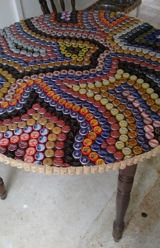 Artesanatos Criativos com Tampinhas