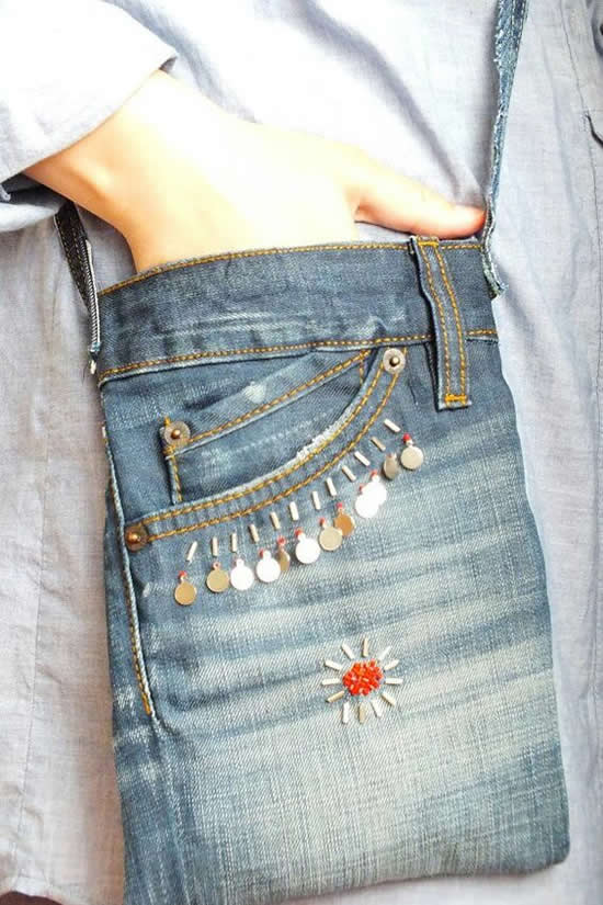 Artesanato com Calça Jeans