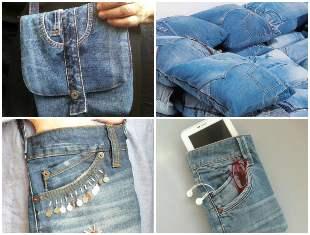 20 maneiras de reaproveitar calça jeans