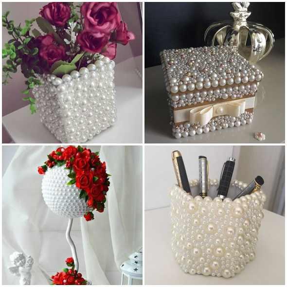 15 ideias lindas para artesanatos com pérola