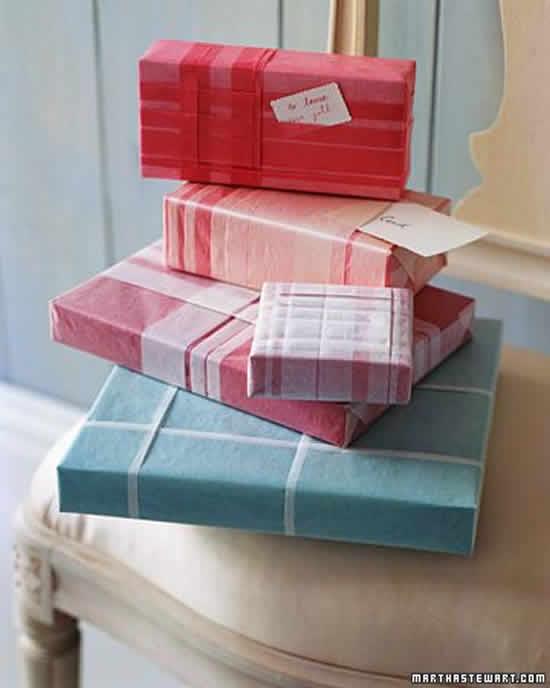 Embalagens e caixinhas decoradas