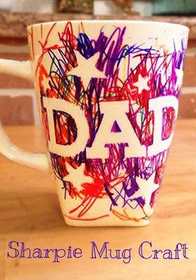 caneca para o Dia dos Pais
