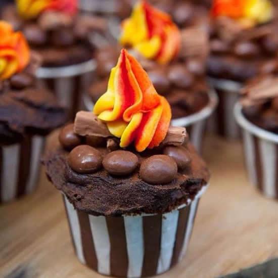 Cupcakes para Festa Junina