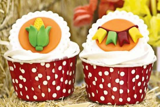 Cupcakes para São João