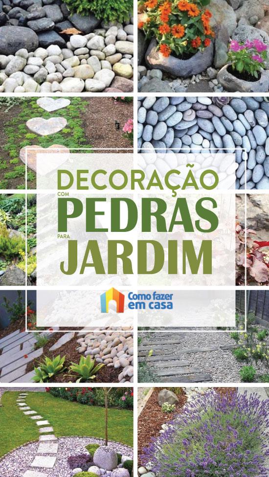 Decoração para Jardim com Pedras
