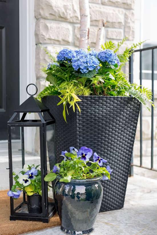 Ideias com flores para jardim