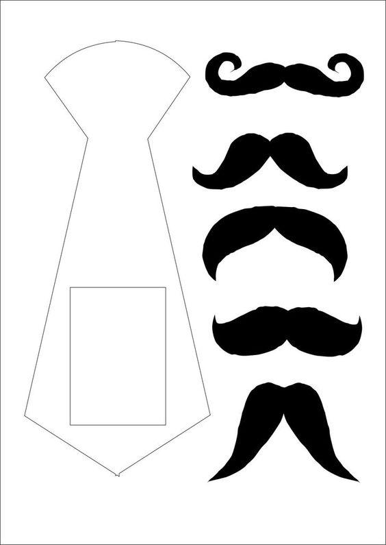 Molde de bigode