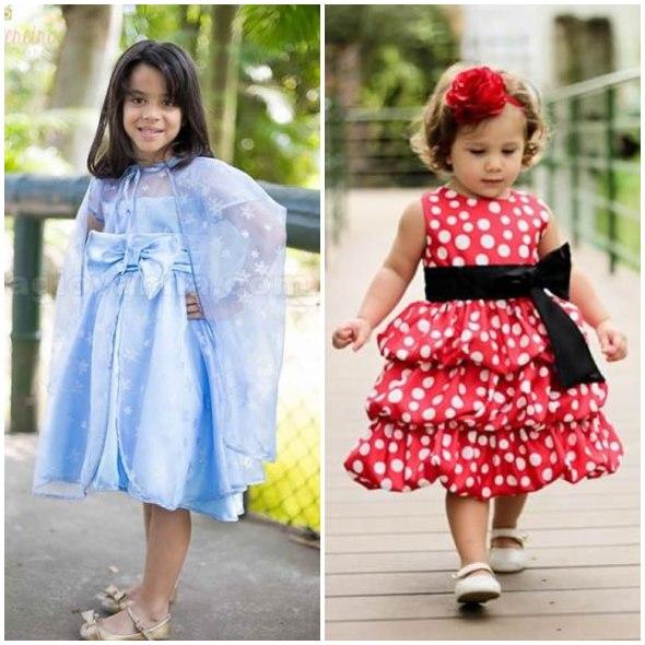 23 opções lindas para vestidos de festa infantil