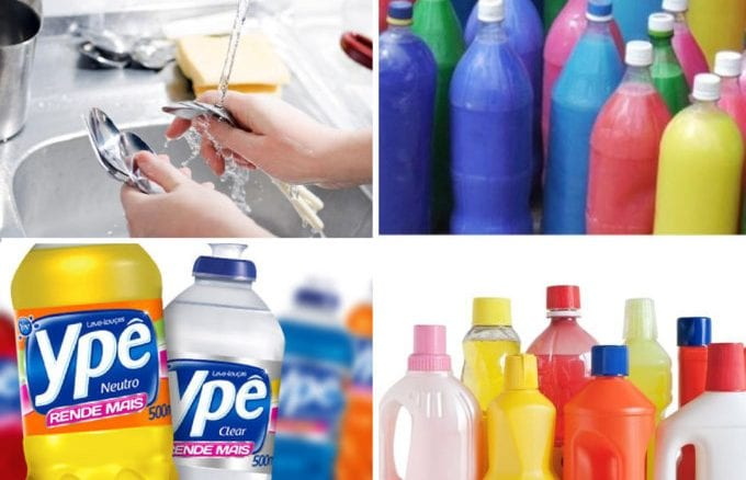como fazer detergente em casa