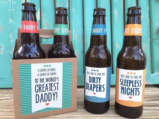 Lindas dicas com garrafas para Dia dos Pais