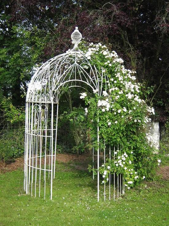 Lindos gazebos para jardim
