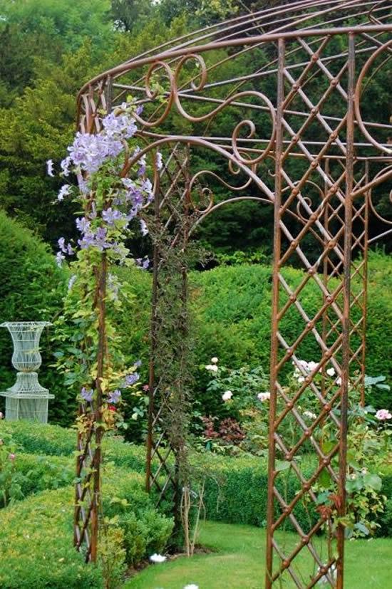Gazebos para decoração de jardim