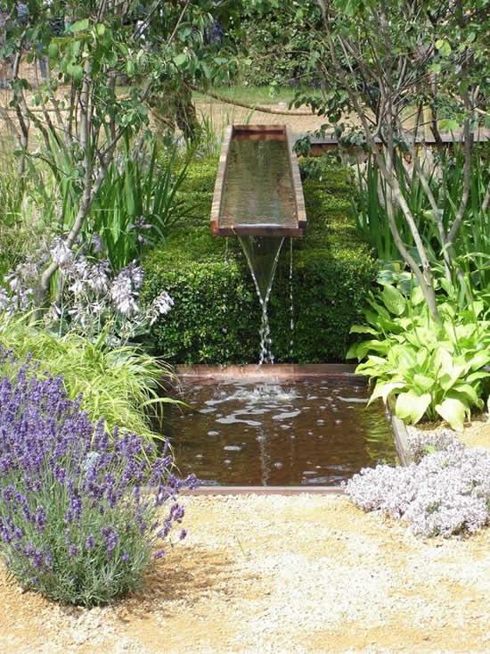 Lago de jardim super inspirador