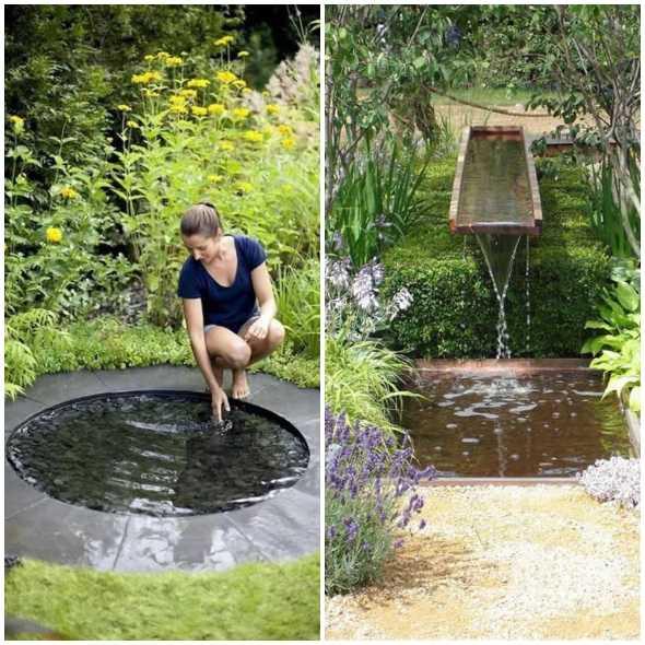 12 inspirações incríveis de lago para jardim