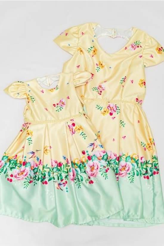 Vestidos para mãe e filha