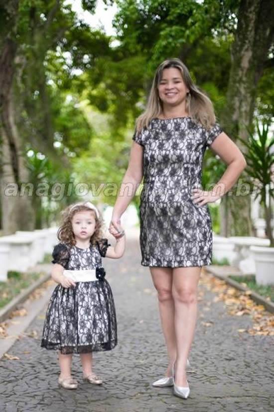 Vestidos lindos para mãe e filha