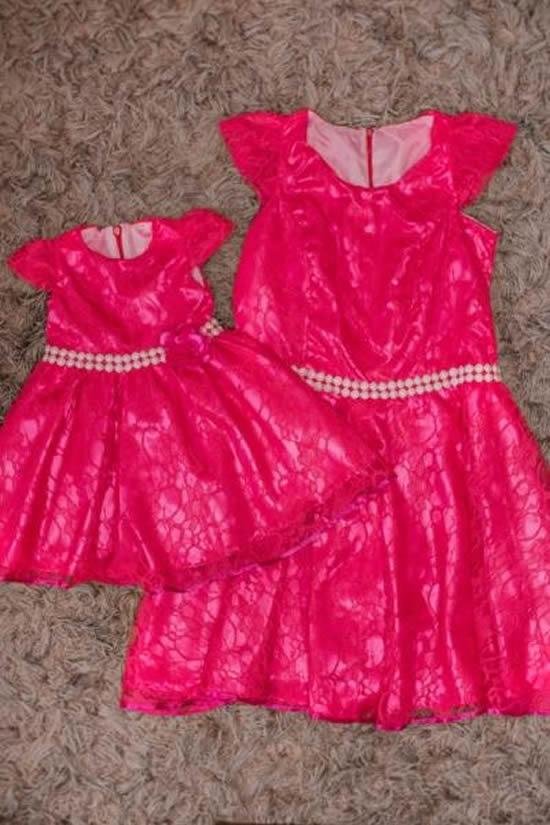 Lindos vestidos para mãe e filha
