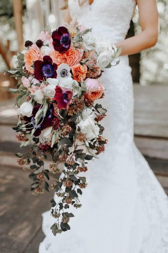Ideias para fazer buquês de noiva