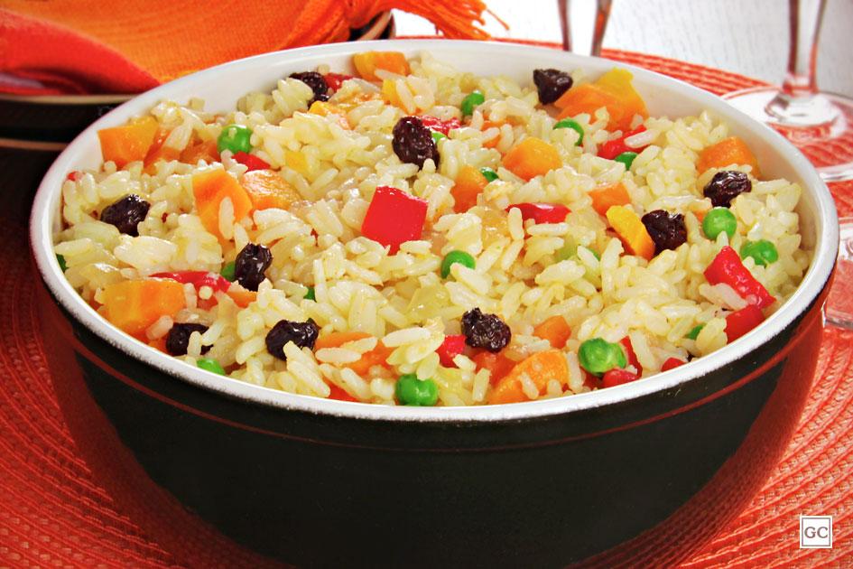 como fazer arroz à grega