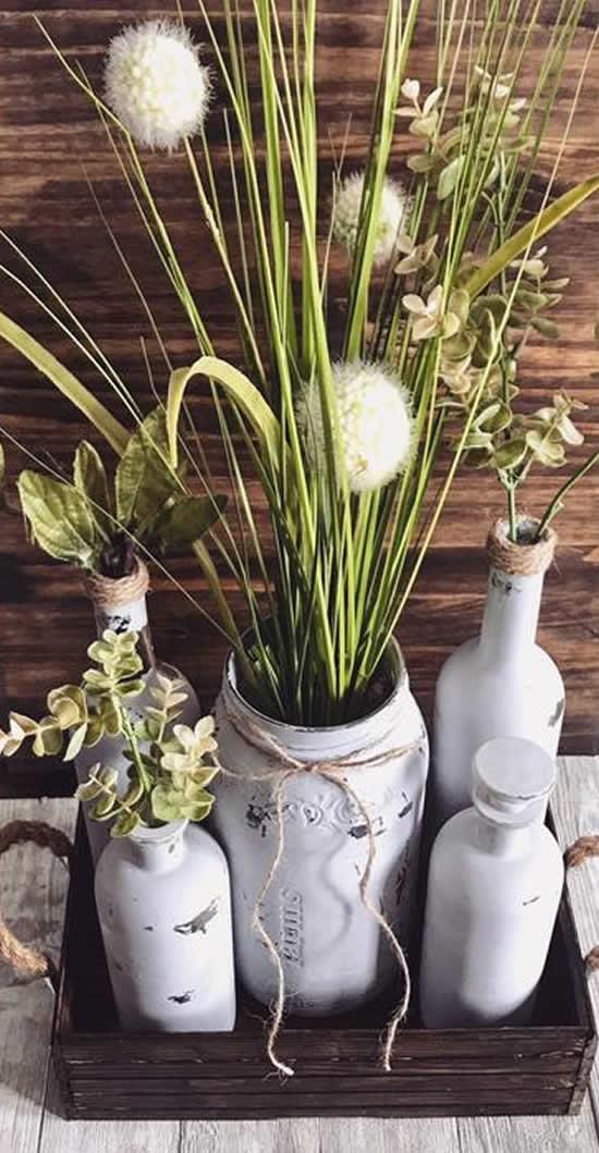 Ideias com vasos rústicos para decorar
