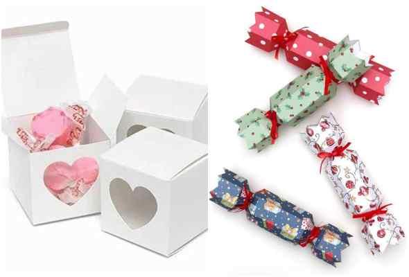 Caixinhas lindas com papel e moldes