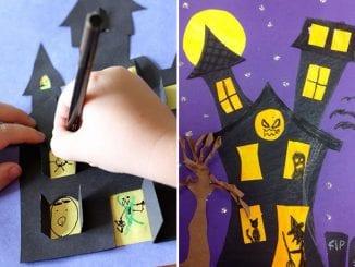 mansão assombrada do halloween
