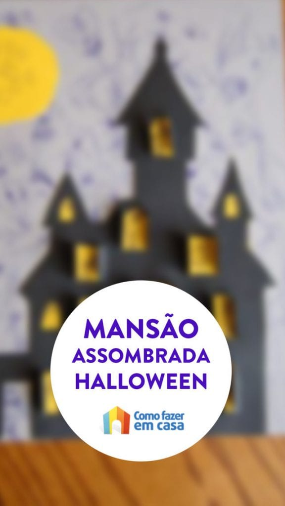 mansão assombrada do halloween