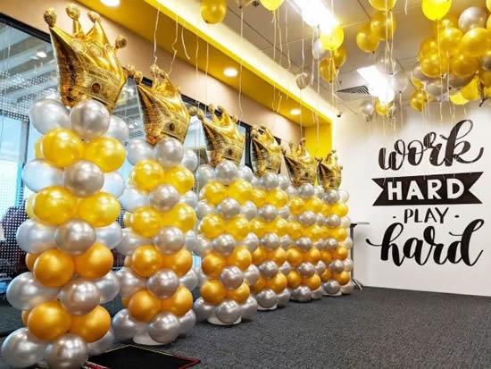 Balões e bolas de festa para decoração de Dia das Crianças