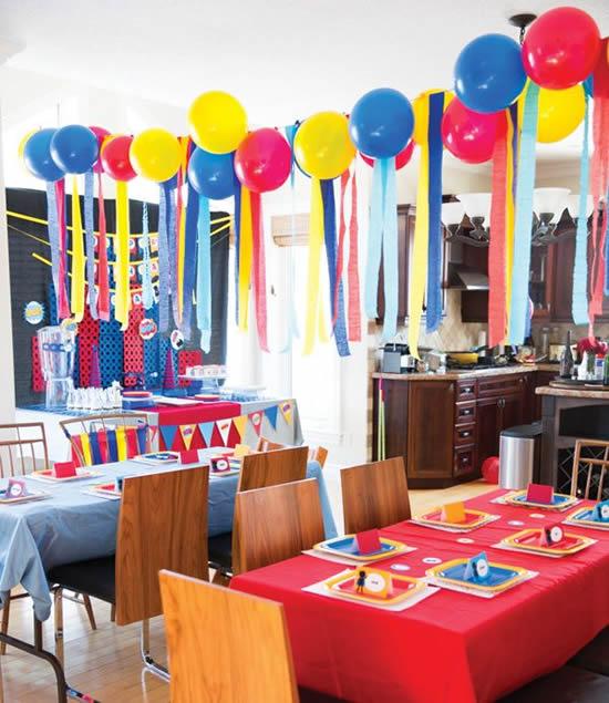 Balões lindos para decoração de festa infantil
