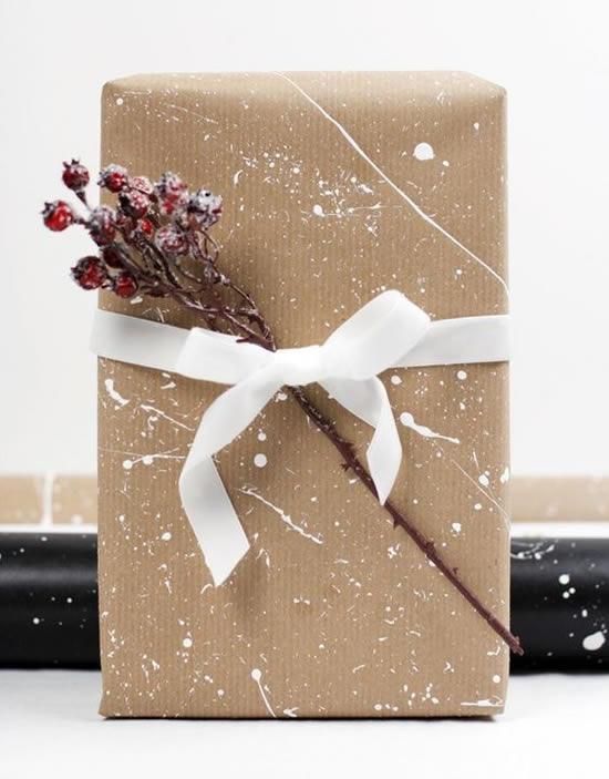 Embalagem linda para presentinho de Natal