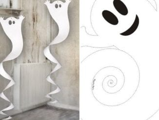 fantasminha de papel