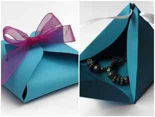 Caixinhas de papel para Dia das Crianças