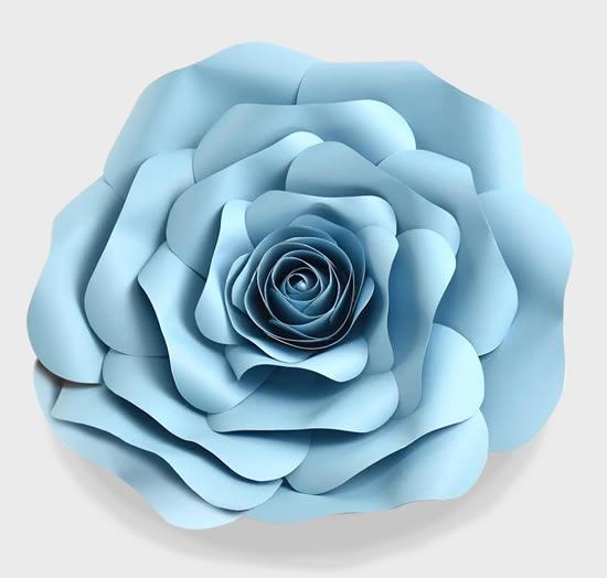 Linda flor de papel