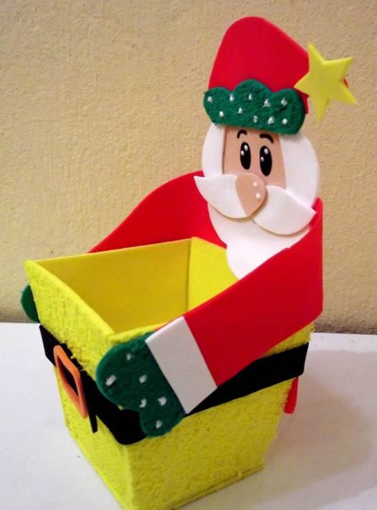 Papai Noel lindo em EVA