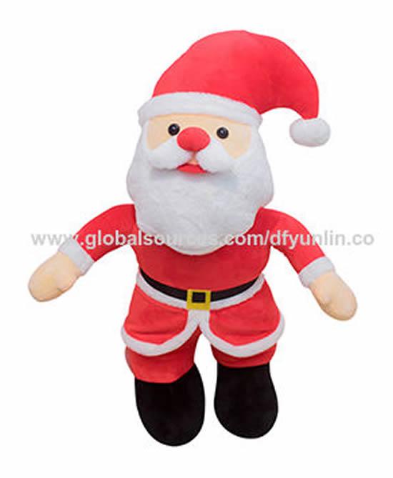 Papai Noel fofo em tecido