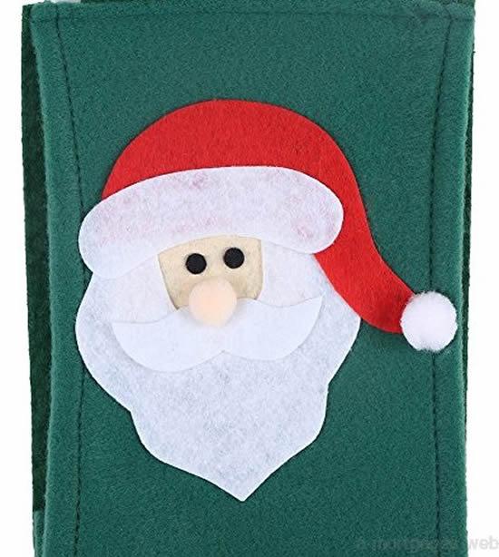 Lindo Papai Noel com feltro